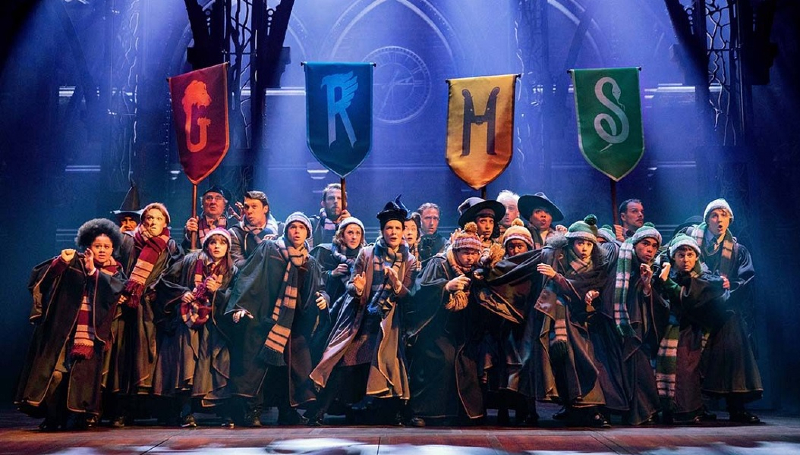 """A still of """"Harry Potter and the Cursed Child"""" play."""