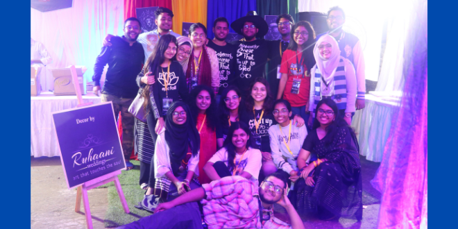 """Expecto Patronum, a """"Harry Potter"""" event hosted by Litmosphere, a Bangladesh-based Bookclub"""
