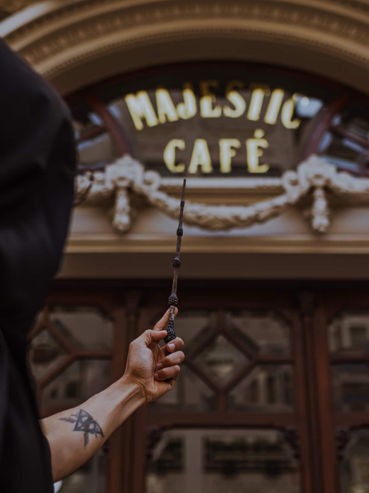 Harry Potter and Porto Majestic Cafe