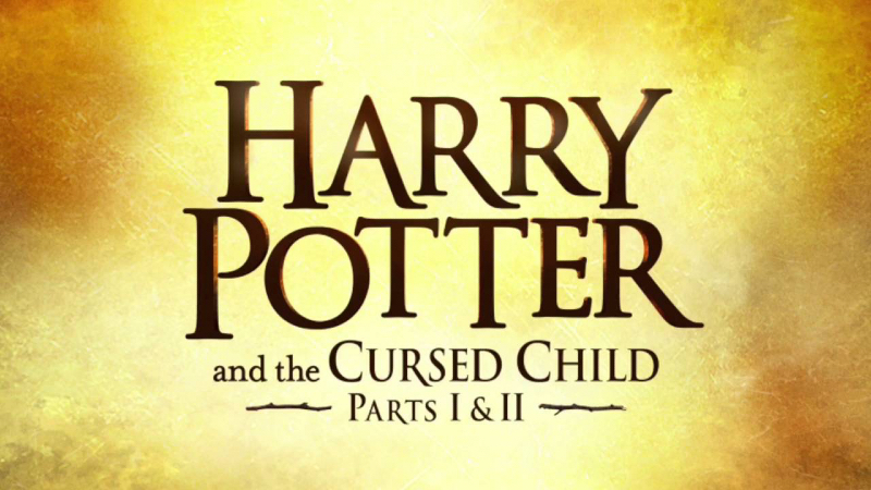 Harry Potter and the Cursed Child play logo.