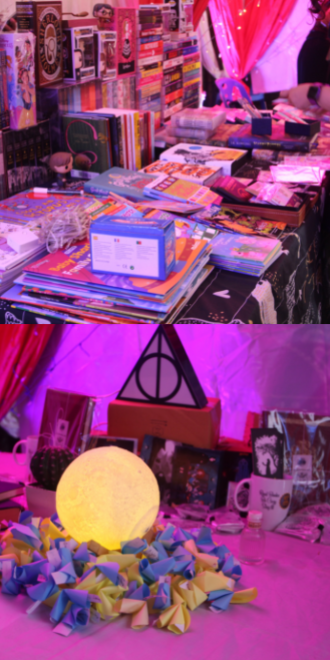 """""""Harry Potter"""" event Expecto Patronum - Stalls, Tarot reading, and Crystal Ball reading corners"""