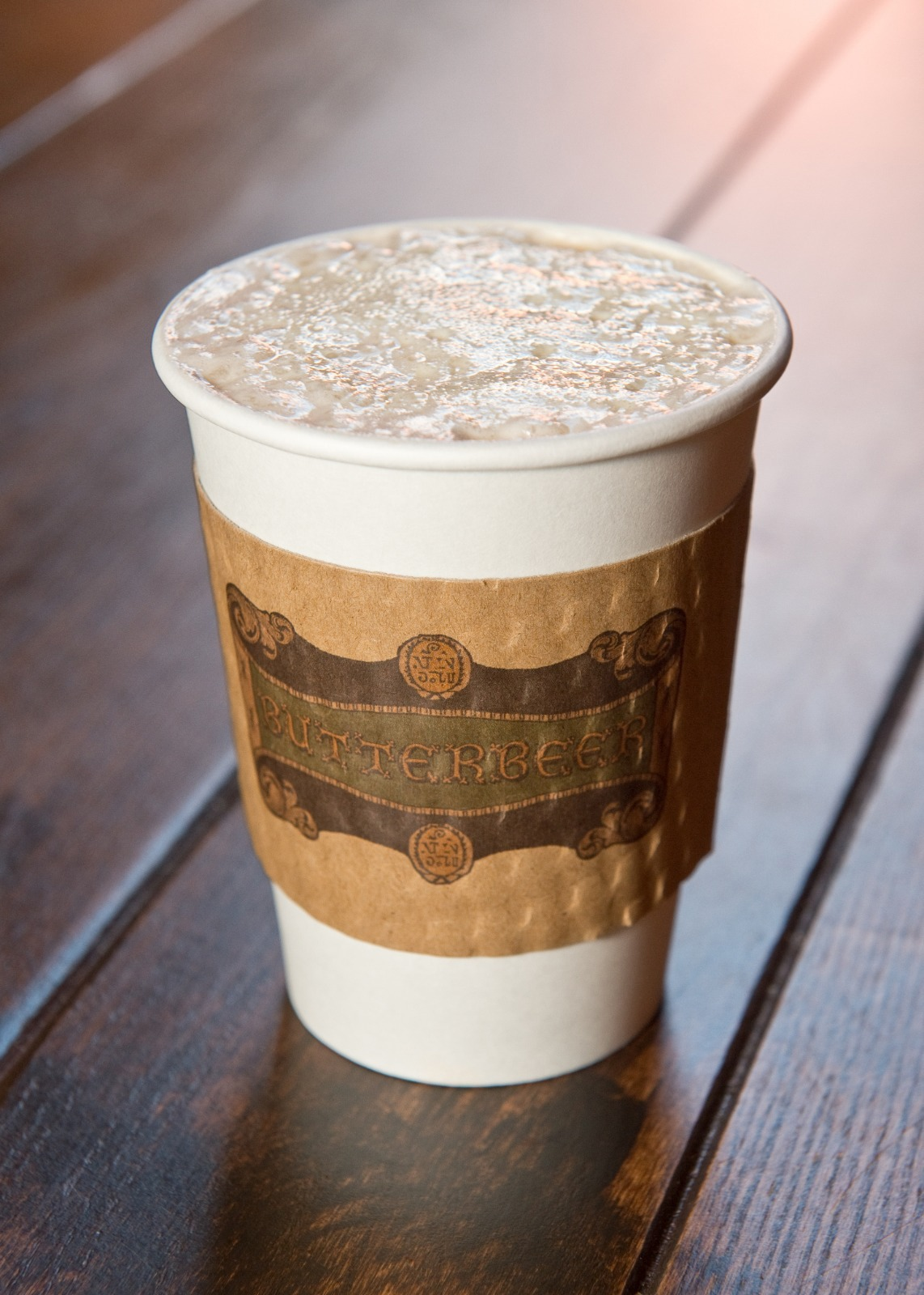 Hot butterbeer will be available all year round at Universal Orlando Resort.