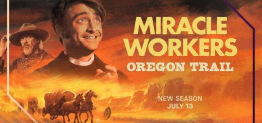 """Daniel Radcliffe will star in the upcoming third season of """"Miracle Workers,"""" for which a trailer premiered online. The third season will be titled """"Miracle Workers: Oregon Trail."""""""