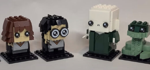 "New LEGO ""Harry Potter"" BrickHeadz Sets"