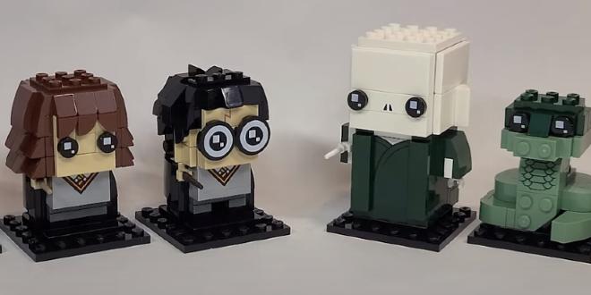 """New LEGO """"Harry Potter"""" BrickHeadz Sets"""