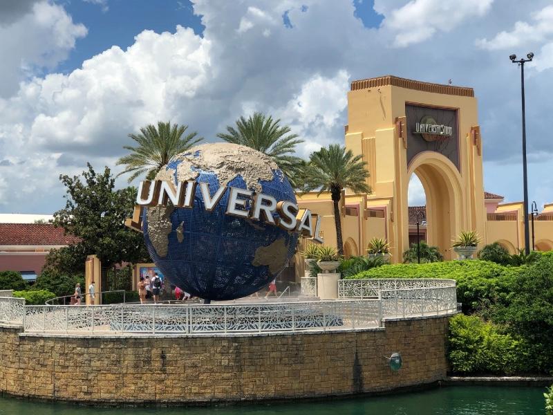 Universal Orlando Resort relaxes COVID precautions in park.