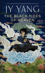 Book cover of The 'Black Tides of Heaven' written by Neon Yang