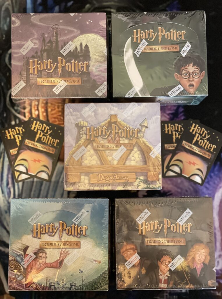 These are booster packs for the trading card game.