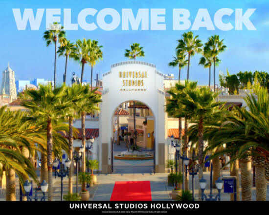 Universal Studios Hollywood welcomes back non-California residents.