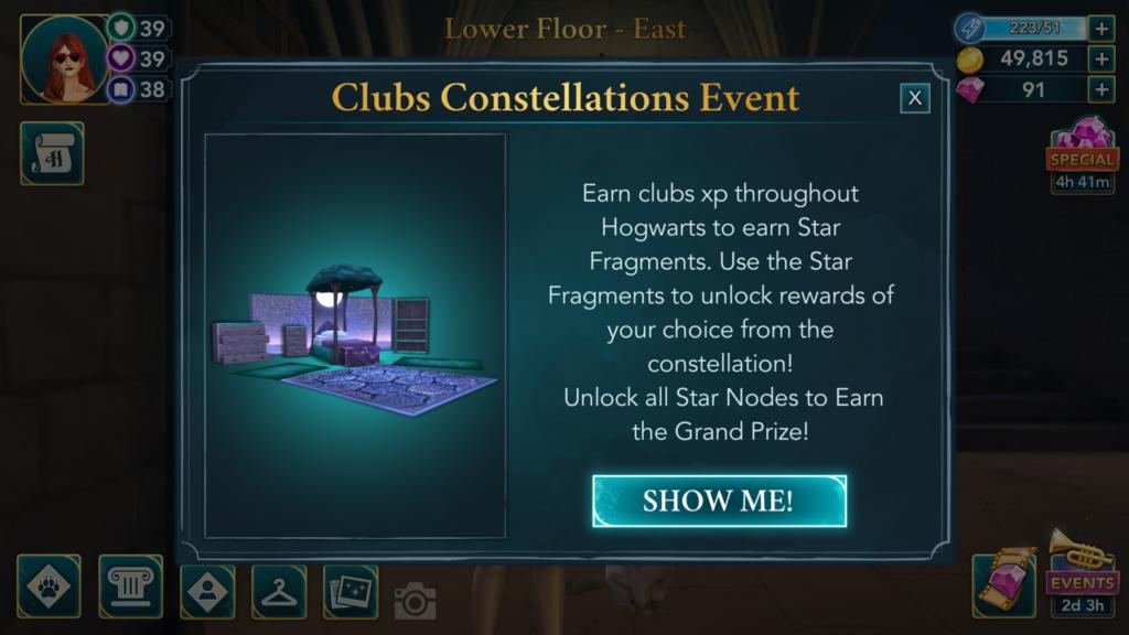 Hogwarts Mystery rewards