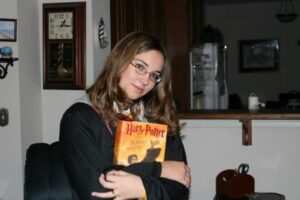 Rena as Hermione.