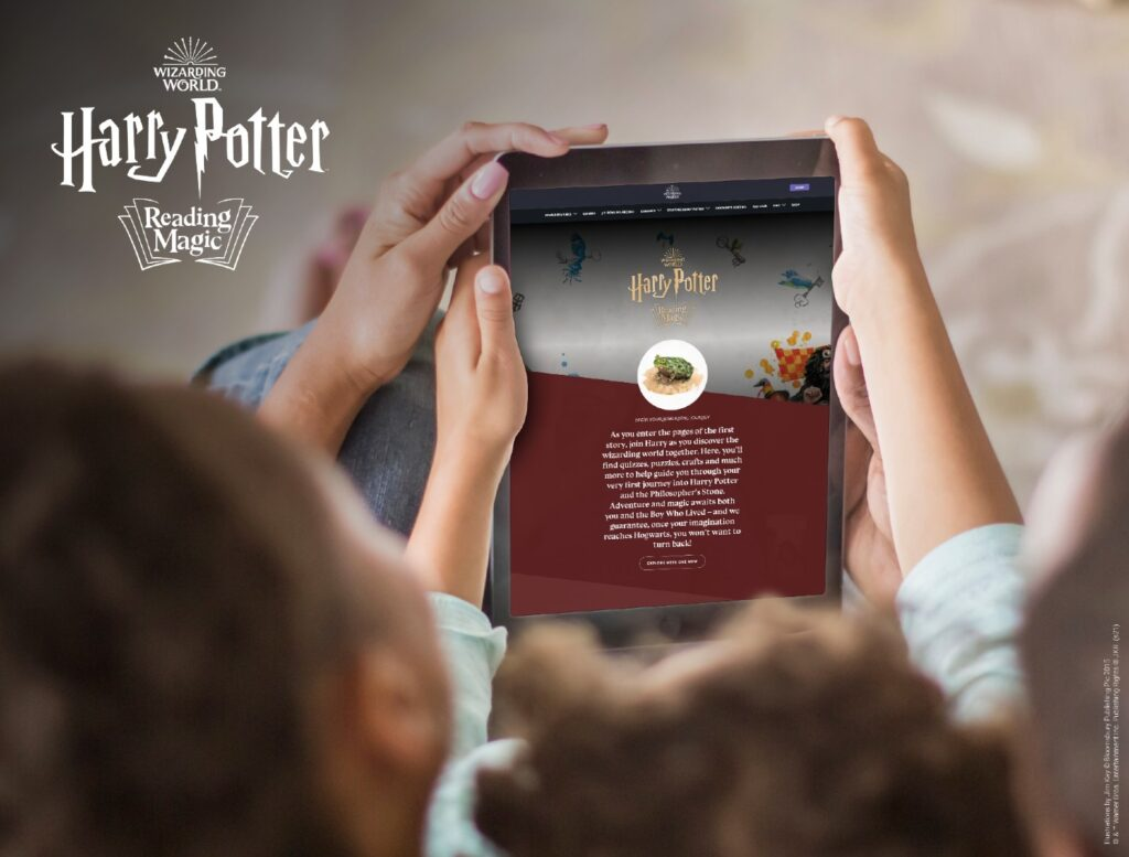 Harry Potter Reading Magic
