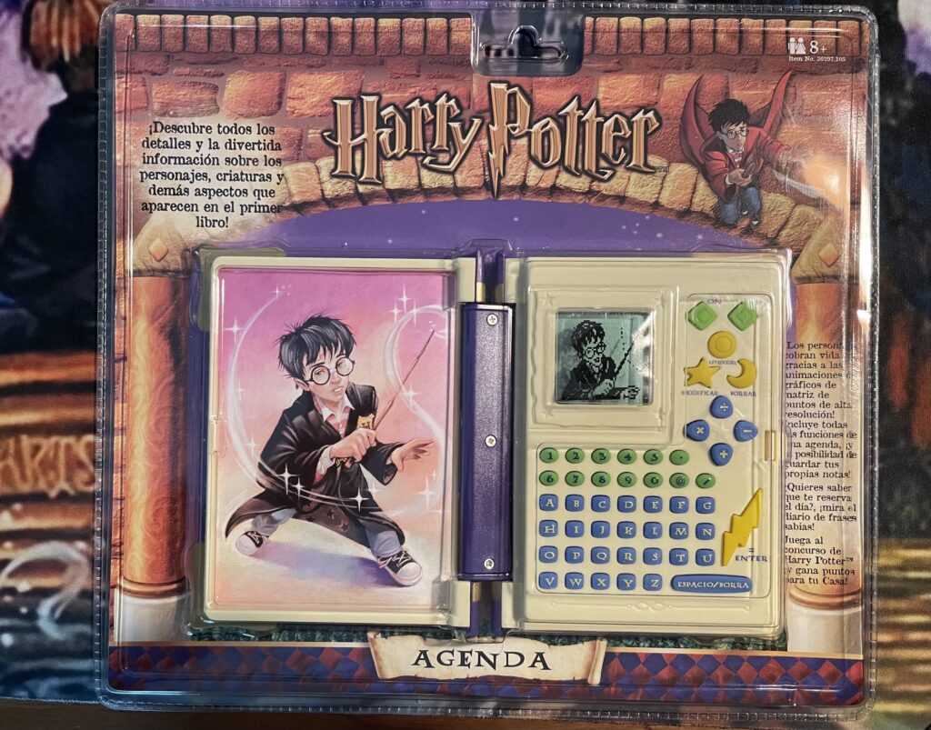 This is the Harry Potter Book of Spells in Spanish.