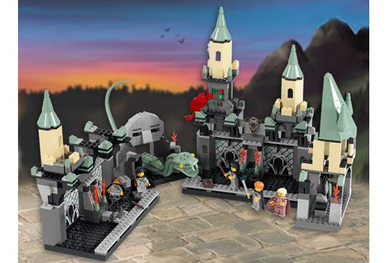 Completed build of The Chamber of Secrets 4730 from 2002.