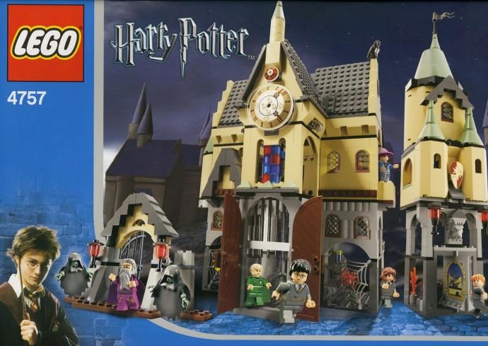 The box art of LEGO Harry Potter set Hogwarts Castle 4757.