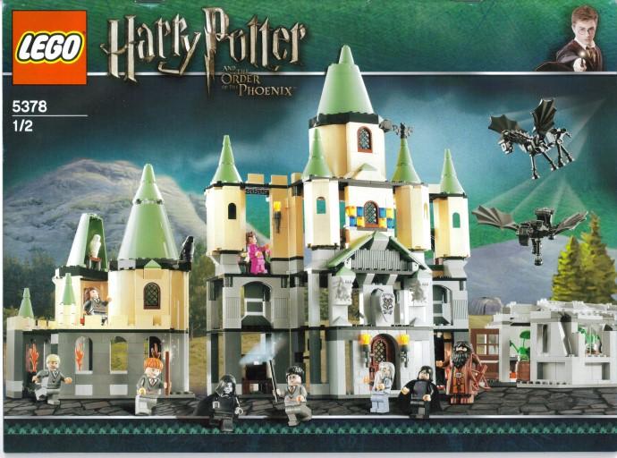 Box cover for LEGO Harry Potter Hogwarts Castle 5378 set.