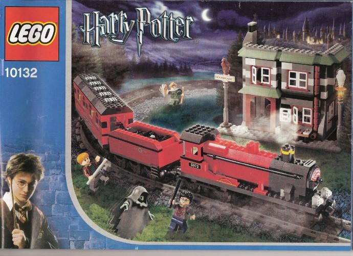 The box art for Motorized Hogwarts Express 1032.