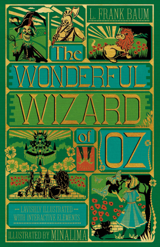"""The cover of MinaLima's illustrated """"The Wonderful Wizard of Oz"""" is shown."""