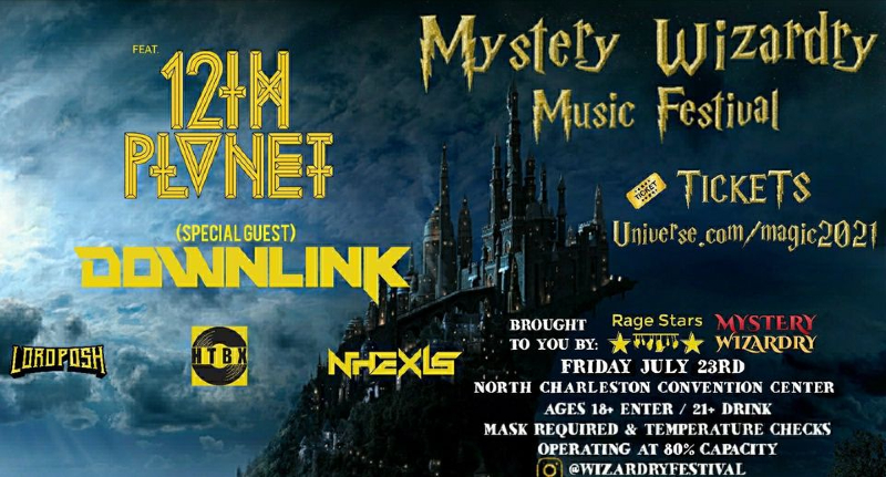 Mystery Wizardry Music Festival is coming to Charleston, SC.