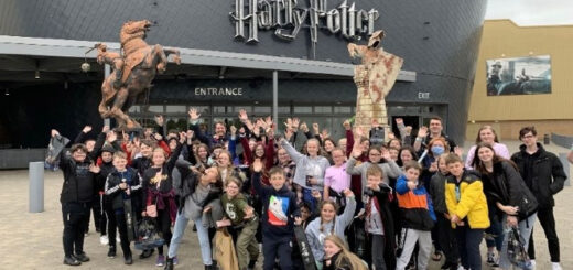 Pupils from Parklee Community School at Warner Bros. Studio Tour - The Making of Harry Potter