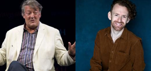 Stephen Fry and Chris Rankin