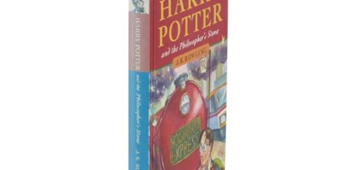 """This """"Harry Potter"""" first edition will be sold at auction in Edinburgh."""