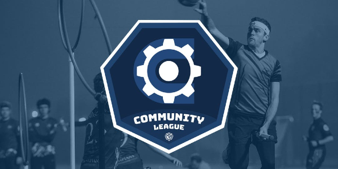 The logo for the QuidditchUK Community League is shown.
