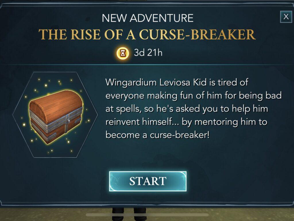 Curse-breaker Quest info