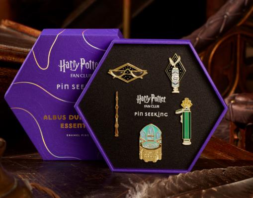 Harry Potter Fan Club Pin Seeking