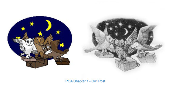 Chapter Images Redrawn by Eric Scull, POA 1