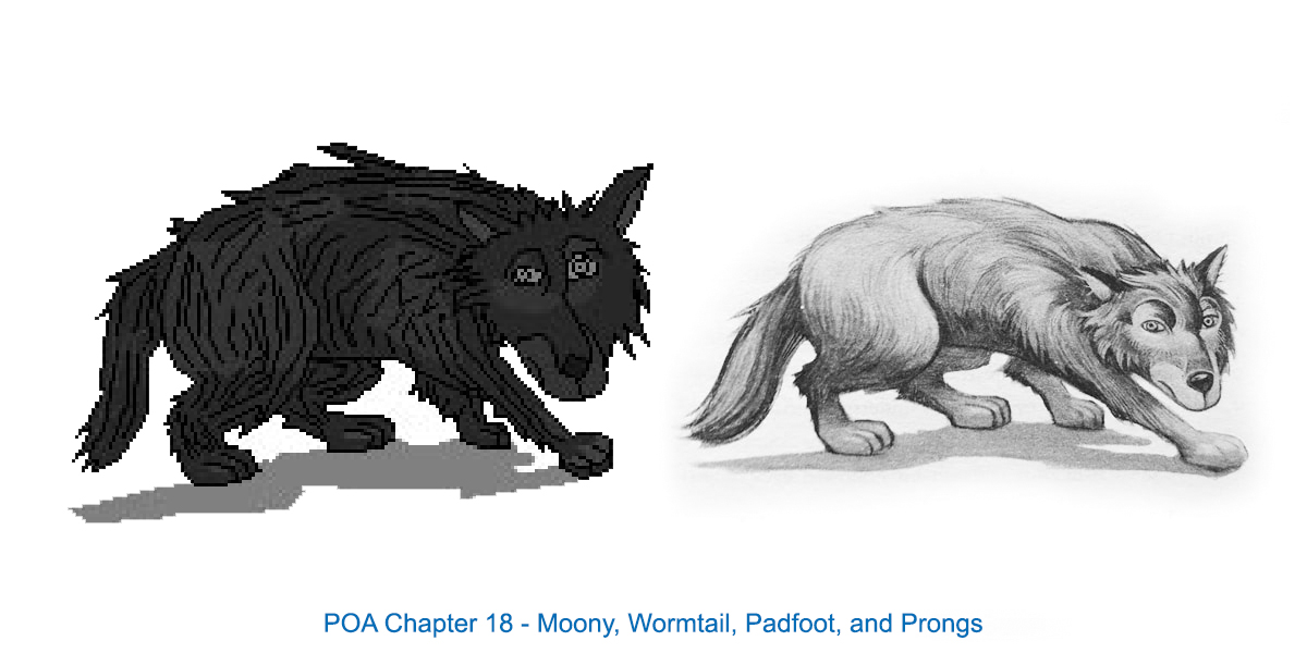 Chapter Images Redrawn by Eric Scull, POA 18