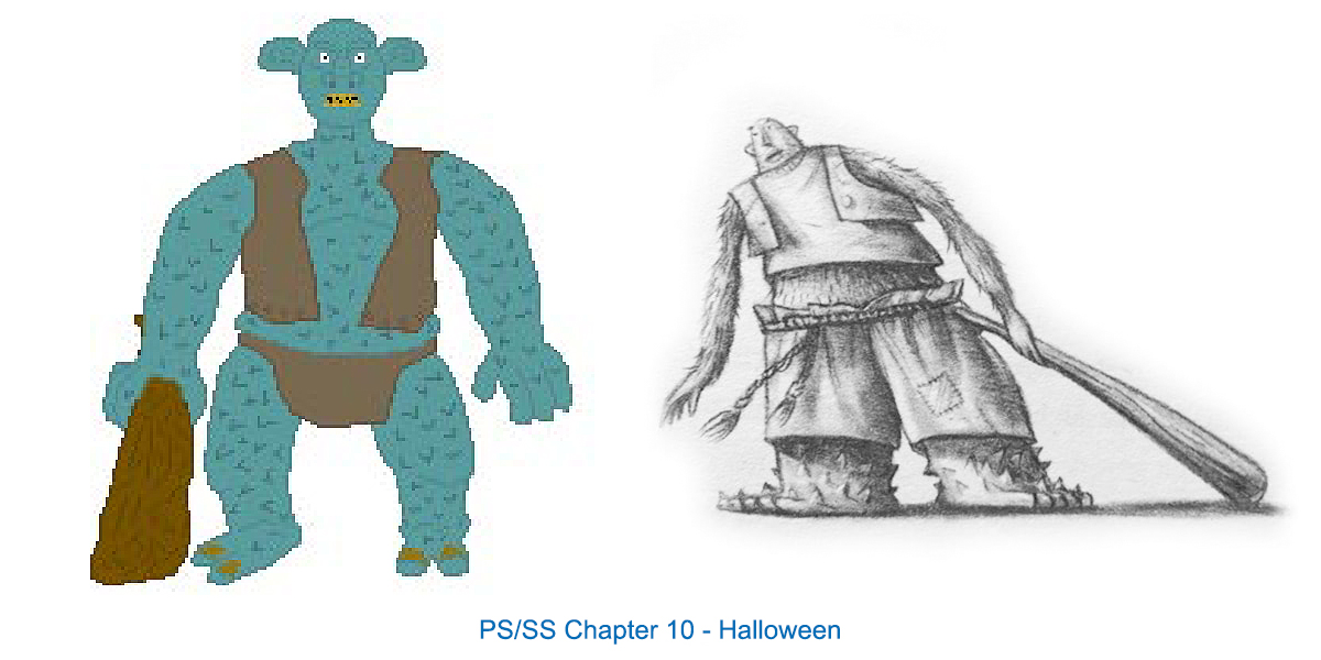 Chapter Images Redrawn by Eric Scull, SS 10
