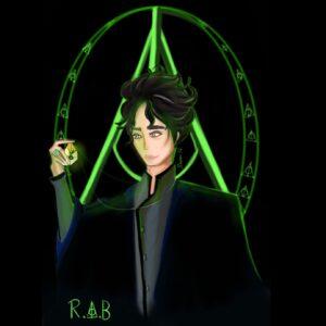 Regulus Black By Nawazzart