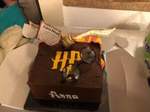 Anne's 25th birthday cake.