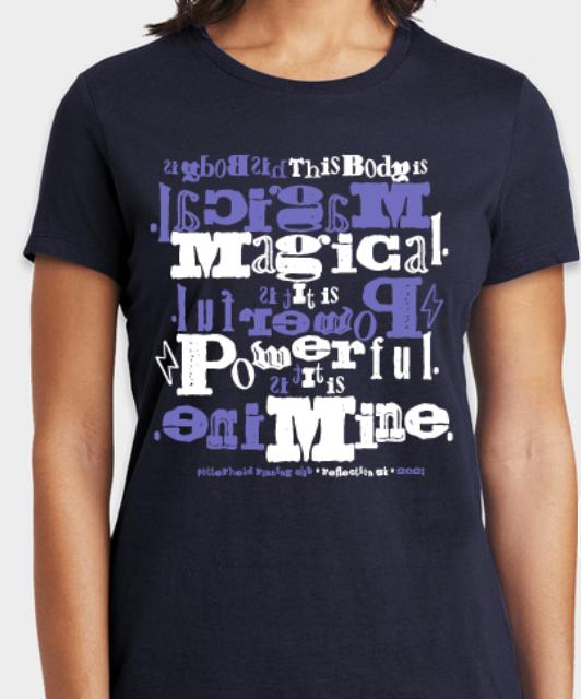 Front of Potterhead Running Club Shirt