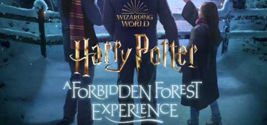 A promotional image for Harry Potter: A Forbidden Forest Experience is displayed as a featured image.