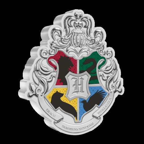 Hogwarts Crest 1oz silver coin