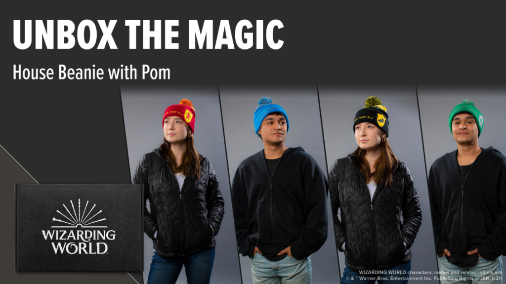 House Beanies from Loot Crate