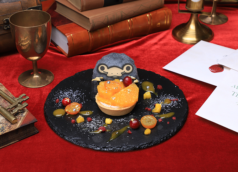 The Niffler Orange Tart will be available for ¥ 1,400.