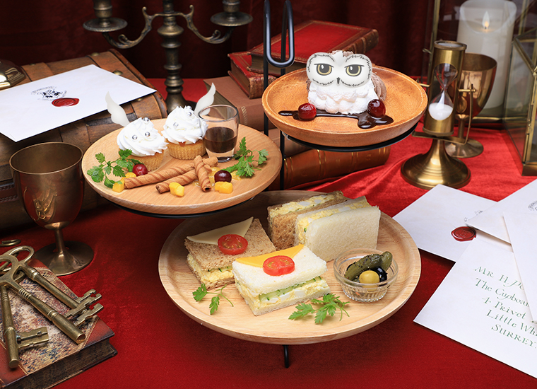 The Snack Platter will cover both the main and dessert.
