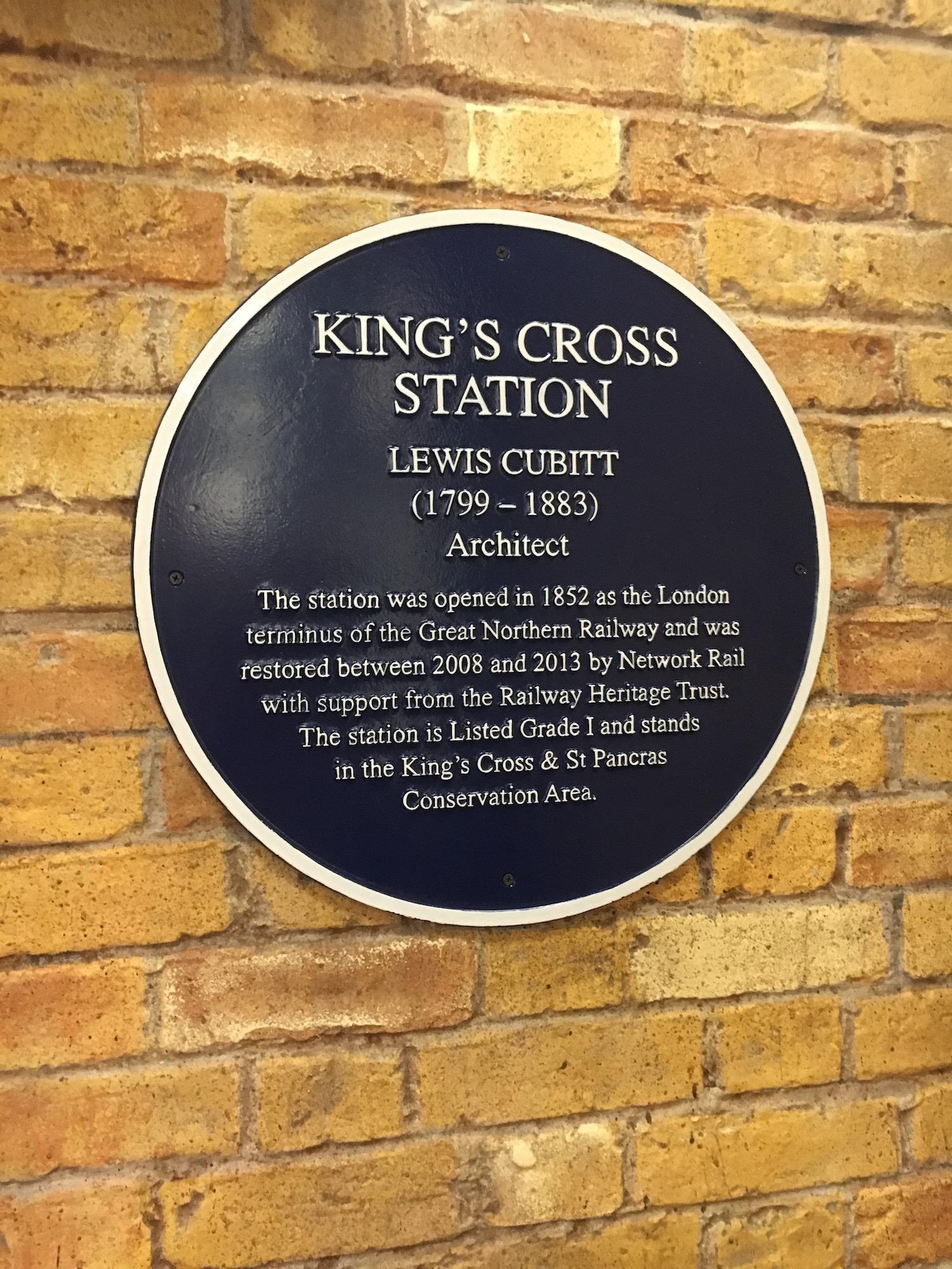 """Chaos at Hogwarts"" – King's Cross architect"