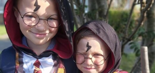 """Pupils at Langney Primary School in costume for their """"Harry Potter"""" Extravaganza."""