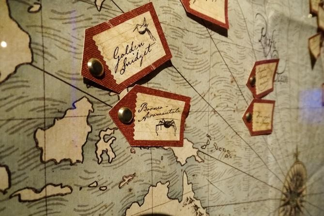 This is Newt Scamander's map of magical creatures.