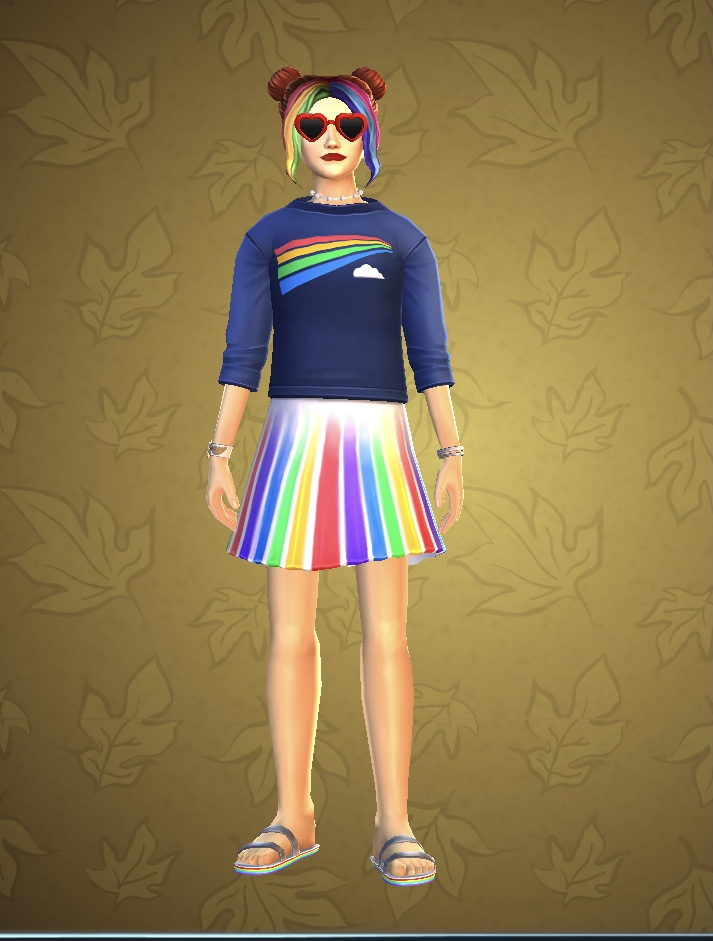 HP HM Pride outfit