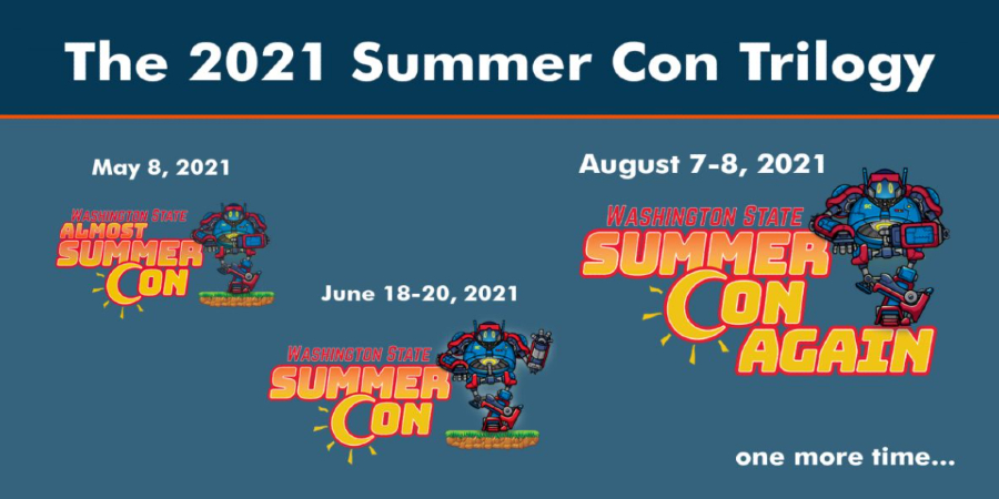 Washington State Summer Con is coming back for a final weekend.