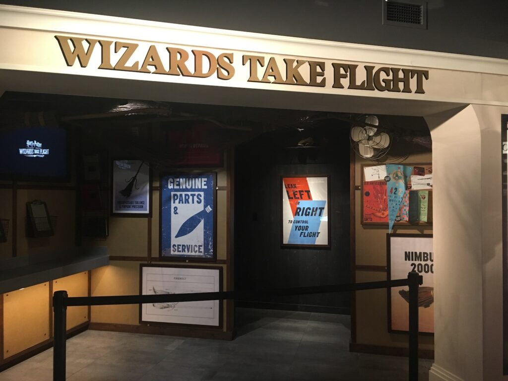 """Wizards Take Flight"" Entrance"