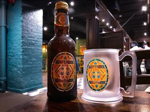 These can be found in the Butterbeer bar in London.