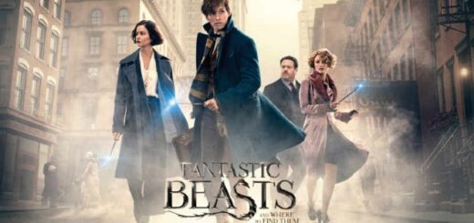 """The """"Fantastic Beasts and Where to Find Them"""" film poster."""