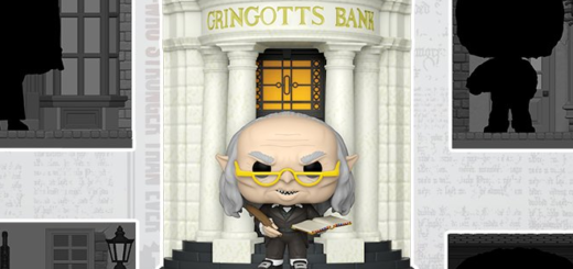 A promotional image from Funko teases a new Gringotts Pop! Deluxe figure, a Target exclusive.