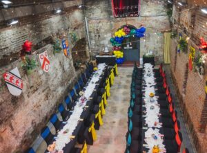 Harry Potter-themed wedding in Portsmouth.